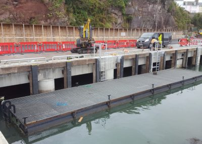 Remedial works to the West Wharf at Dunmore East Fishery Harbour
