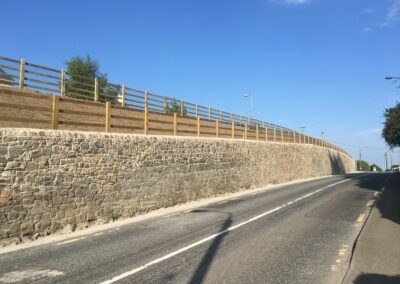 Slane Retaining Wall