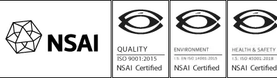 NSAI Certification – ISO 45001:2018, ISO 14001:2015 and ISO 9001:2015
